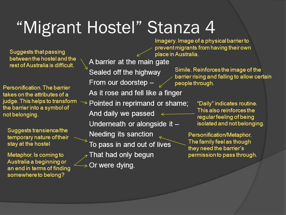 Migrant Hostel Stanza 4 A barrier at the main gate Sealed off the highway From our doorstep – As it rose and fell like a finger Pointed in reprimand o
