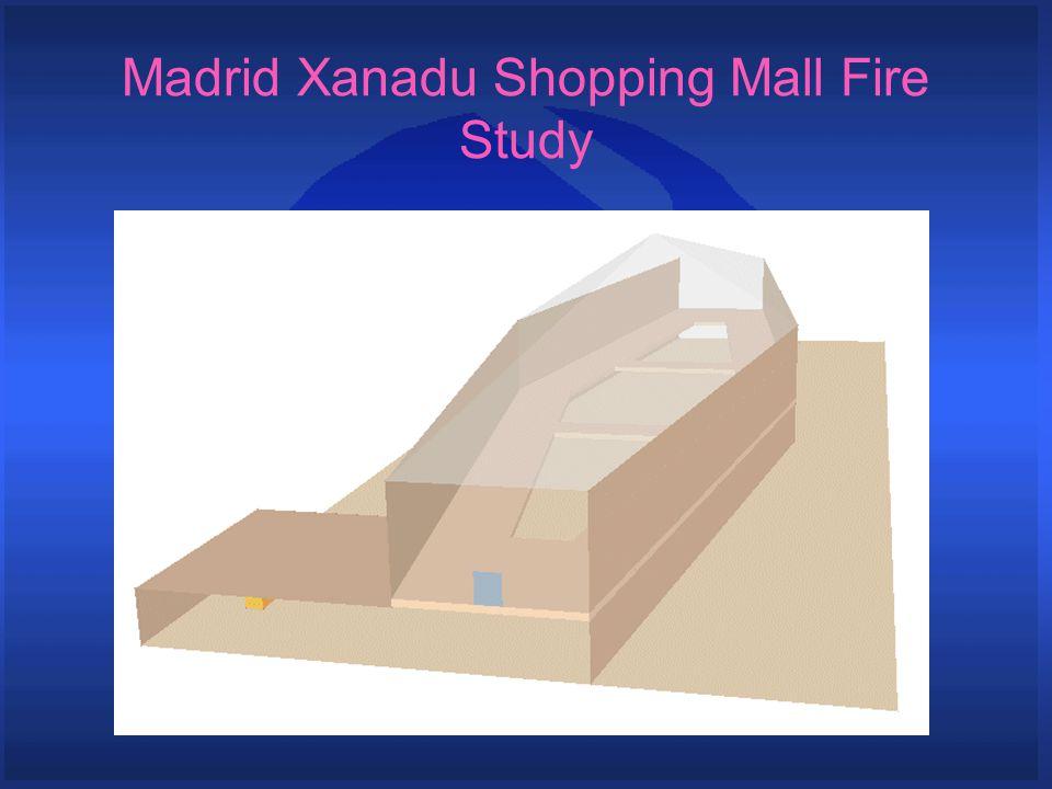 Madrid Xanadu Shopping Mall Fire Study