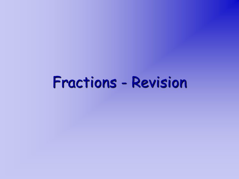 Fractions are numbers which mostly describe ______________.
