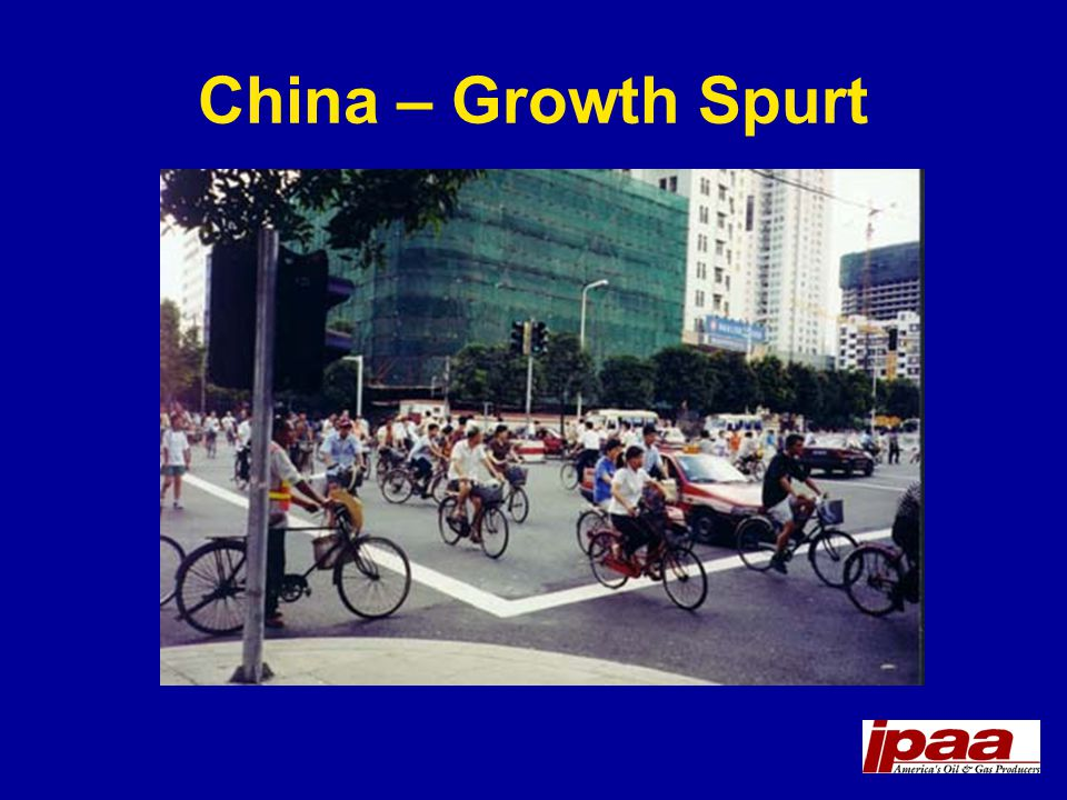 China – Growth Spurt