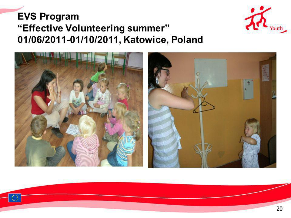 EVS Program Effective Volunteering summer 01/06/2011-01/10/2011, Katowice, Poland 20
