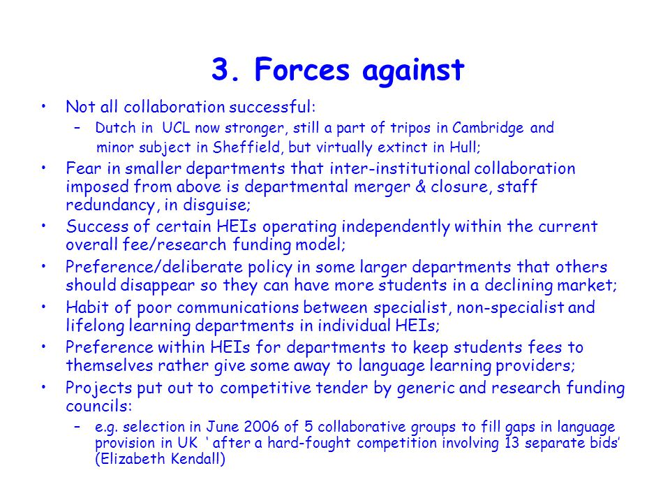 4.Wales as example of collaboration v.