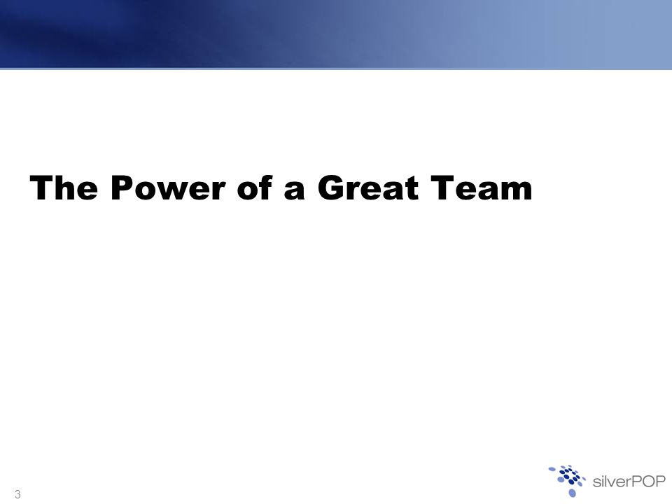 4 Words of Wisdom Teamwork is the ability to work together toward a common vision.