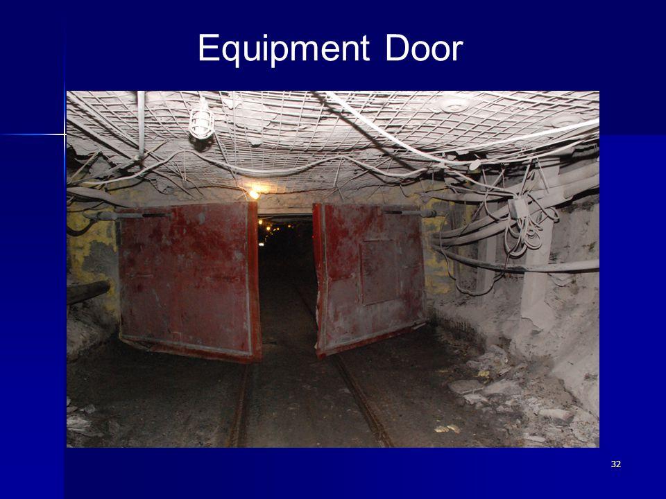 32 Equipment Door