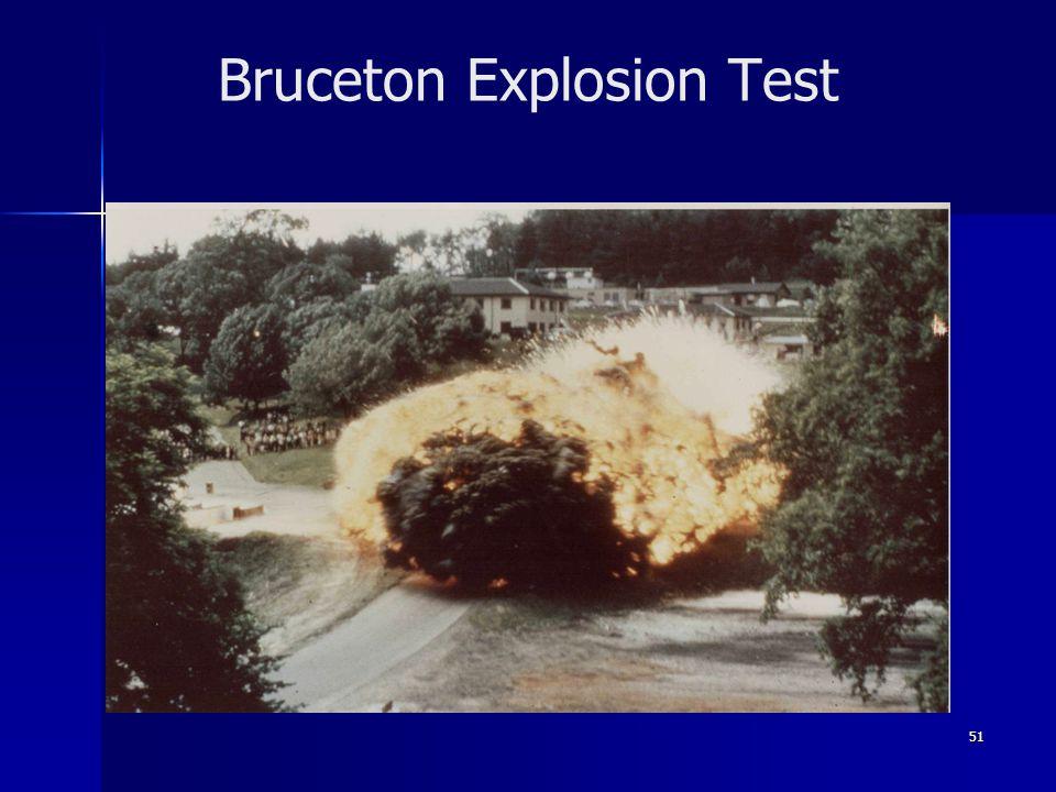 51 Bruceton Explosion Test