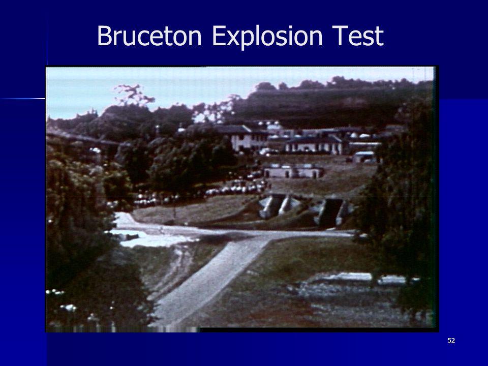 52 Bruceton Explosion Test