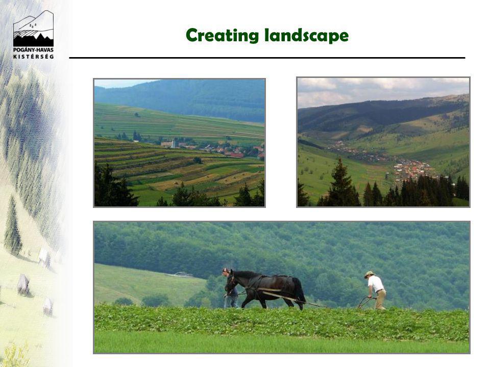 Creating landscape Patchwork