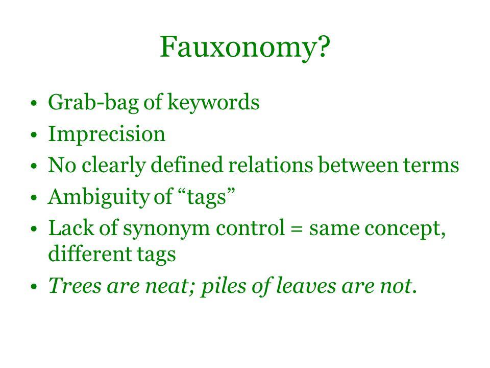Fauxonomy.