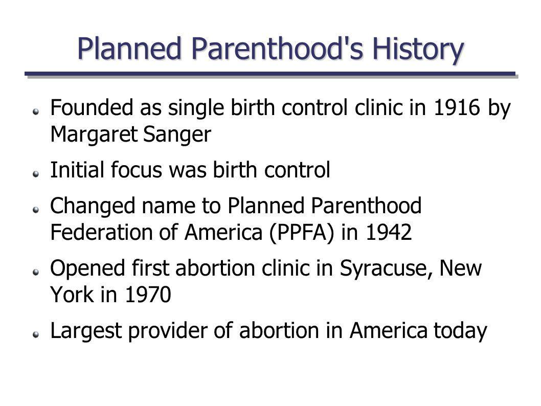 Who was Margaret Sanger.
