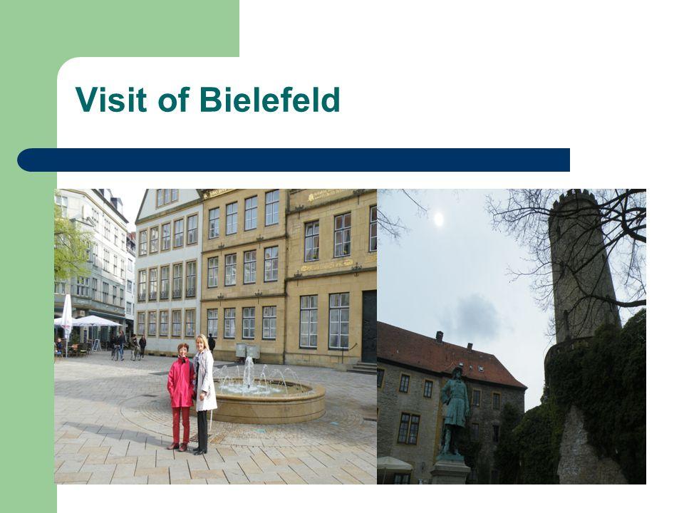 Visit of Bielefeld