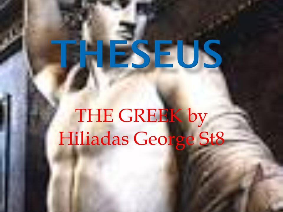 THE GREEK by Hiliadas George St8
