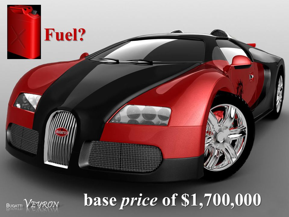 base price of $1,700,000 Fuel