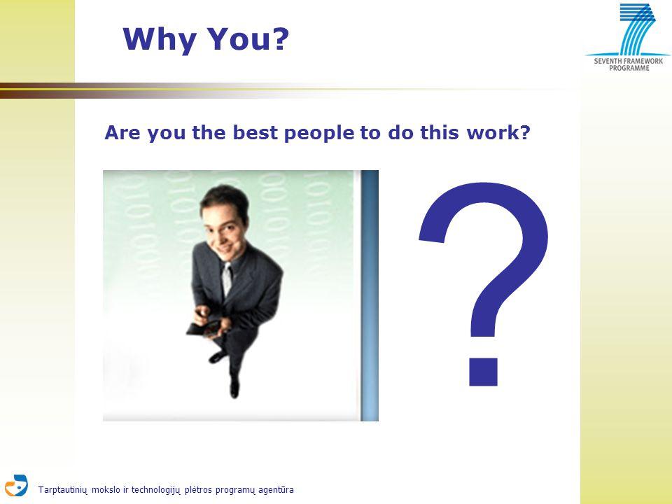 Tarptautinių mokslo ir technologijų plėtros programų agentūra Why You.