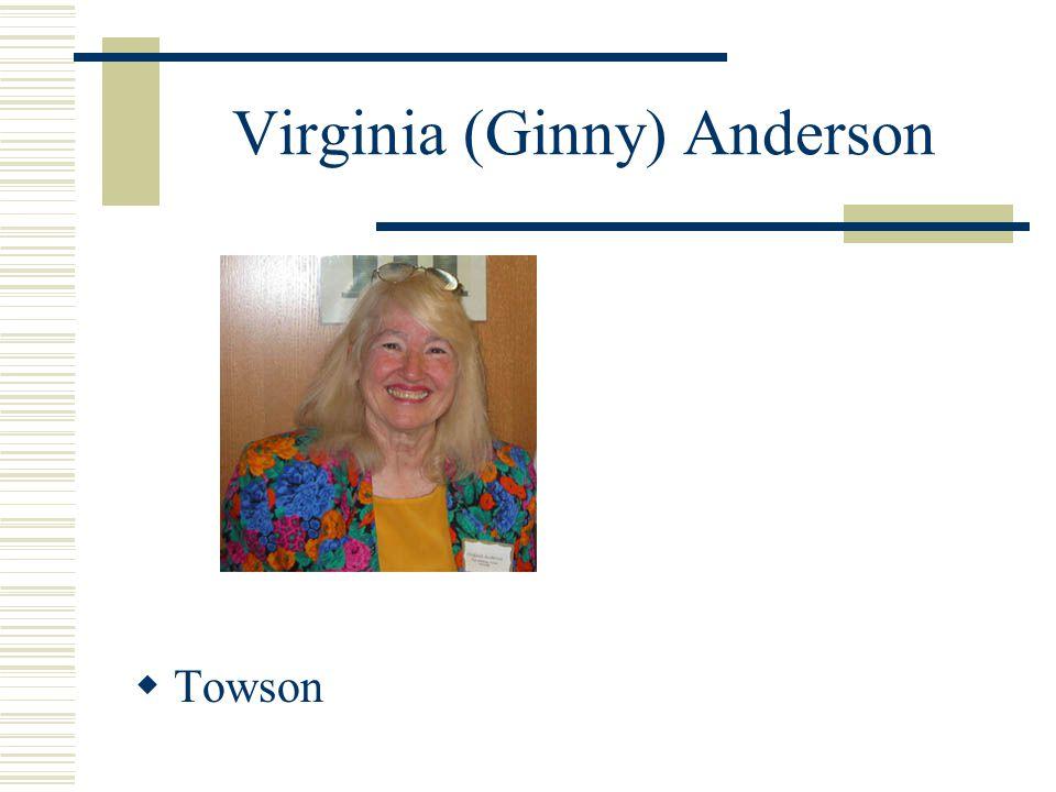 Virginia (Ginny) Anderson Towson