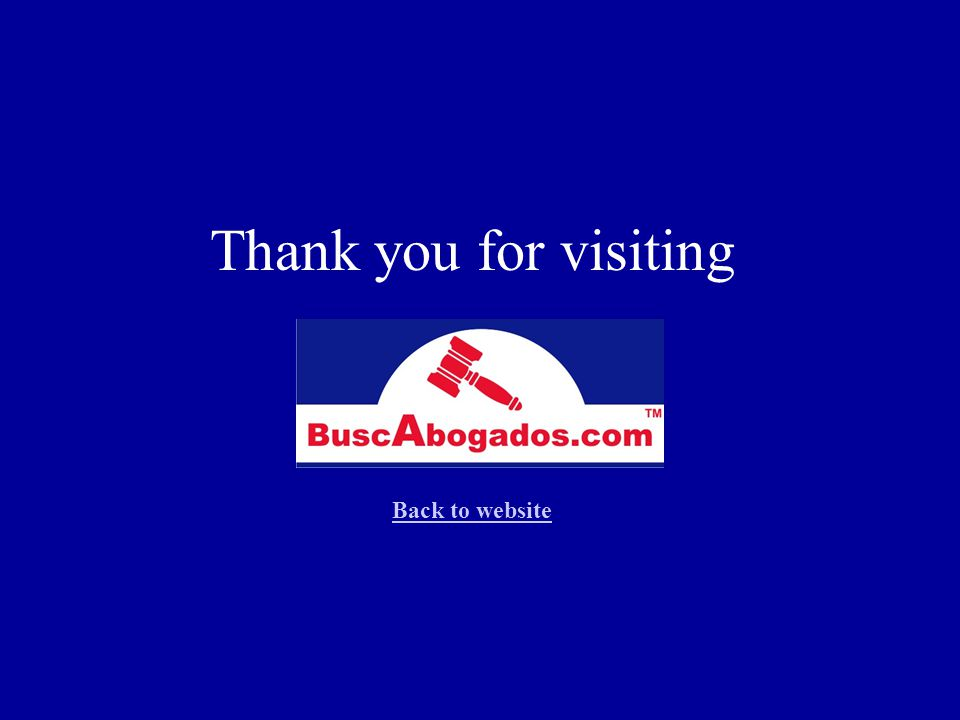 Thank you for visiting Back to website Back to website