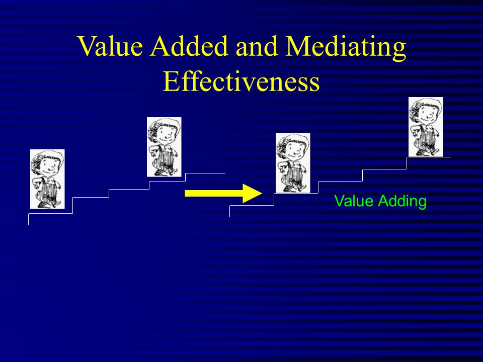 Value Added and Mediating Effectiveness Value Adding