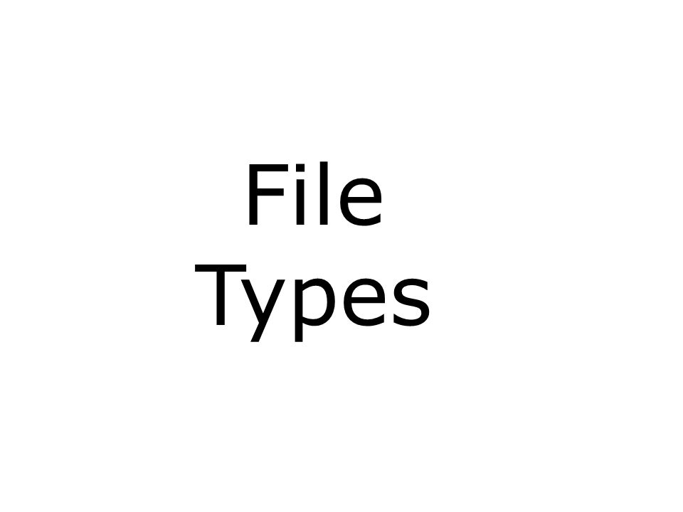 CIS 191 – Lesson 3 File Types and Commands Note: Other files types includes sockets (s) and named pipes (p) Long listing code (ls –l) TypeHow to make one ddirectorymkdir -regulartouch lsymbolic linkln -s cspecial (character device files)mknod bspecial (block device files, buffered)mknod