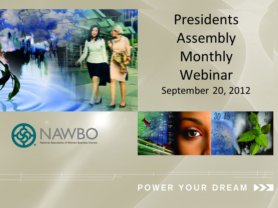 A recorded version of this webinar will be available through September 2013 at: https://www1.gotomeeting.com/register/500313096