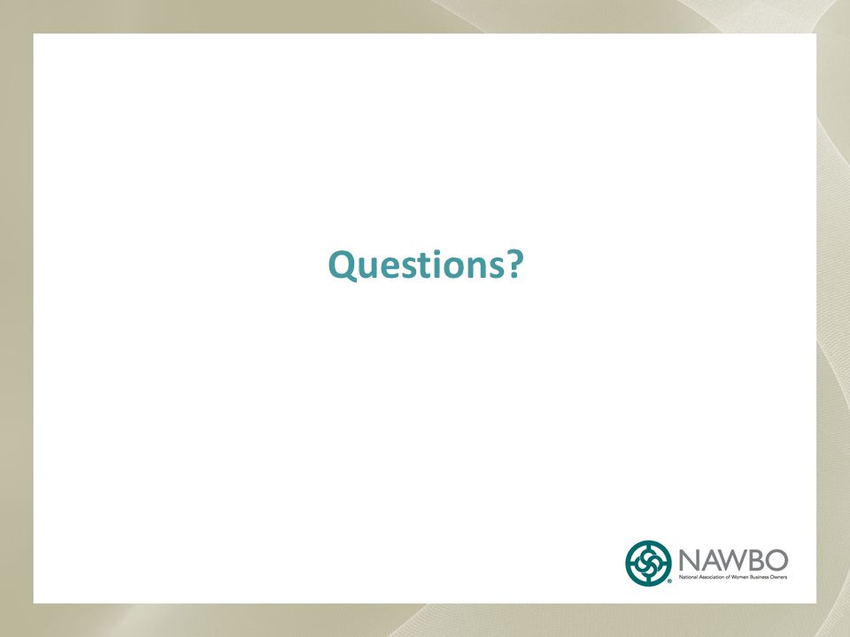 Thank you for participating in NAWBO Presidents Assembly Webinar.