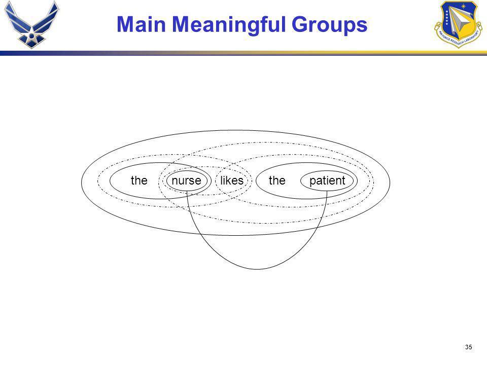 35 Main Meaningful Groups thenurselikesthepatient