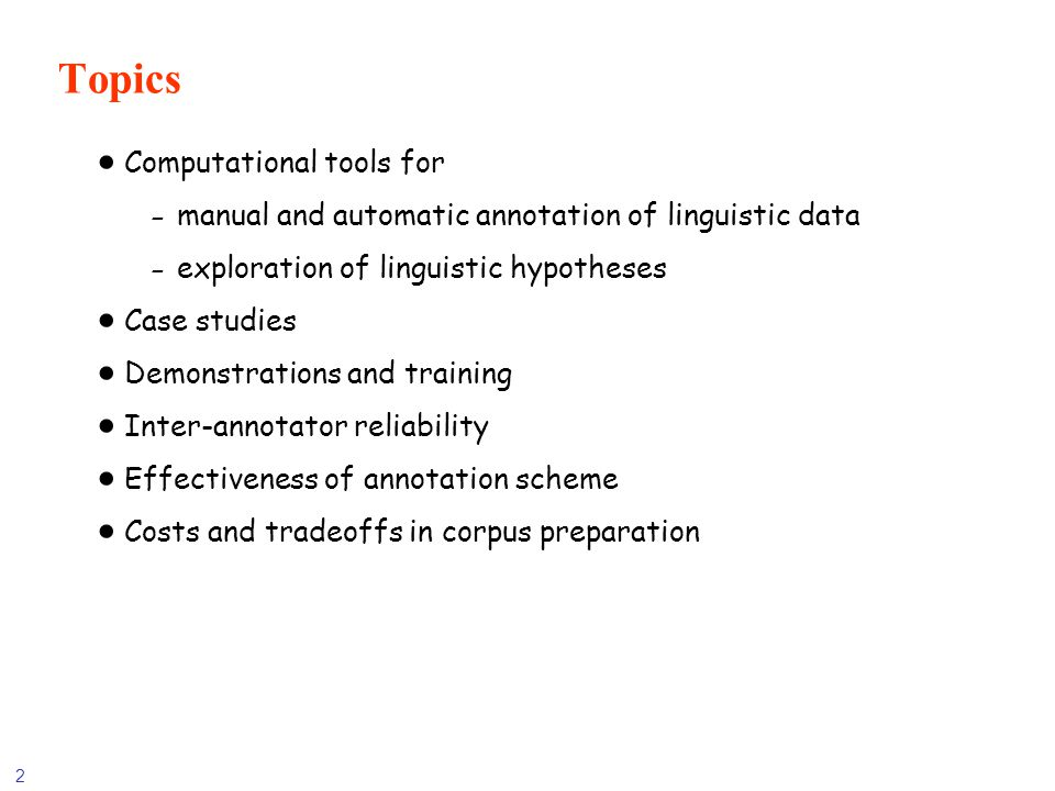 113 Morphological Analysis Inflectional morphology, mostly For simple languages (English, Japanese) – simple inflectional module suffices For more complex languages (Spanish) – a finite-state transducer is used For morphologically very complex languages (Arabic, Hebrew) – complex finite state transducer architectures For languages with productive noun compounding (German) – specialized module needed