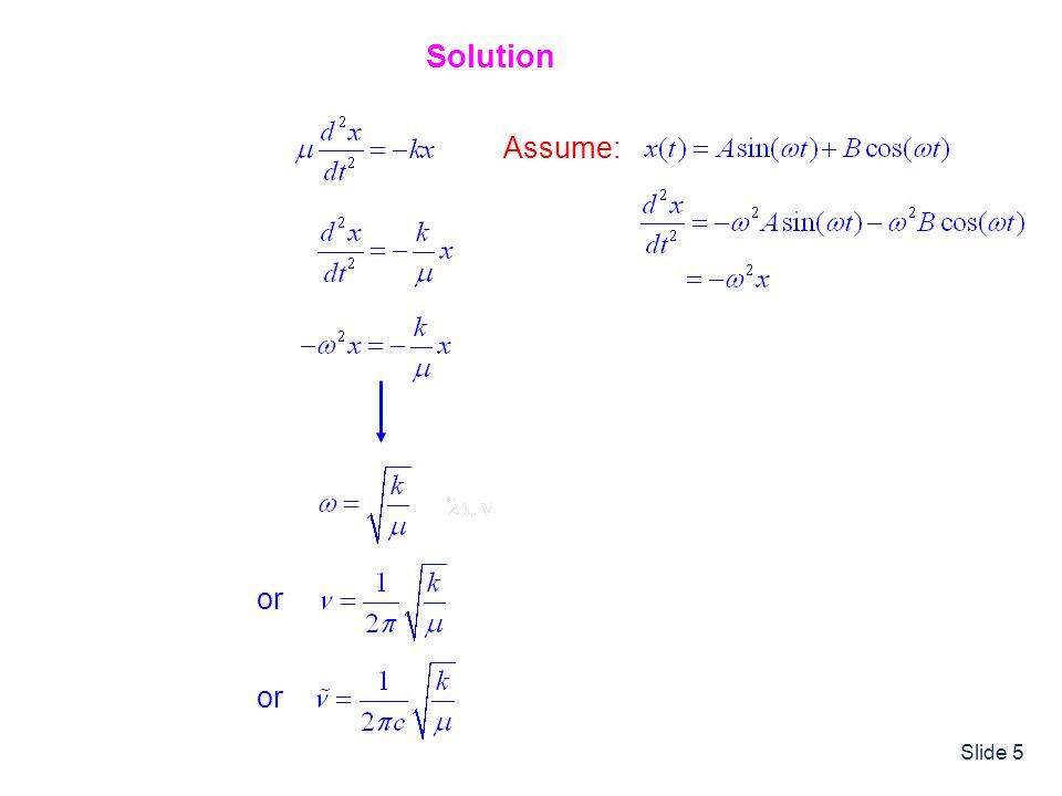 Slide 36 Properties of the QM Harmonic Oscillator Some Useful Integrals Remember If f(-x) = f(x) Even Integrand If f(-x) = -f(x) Odd Integrand