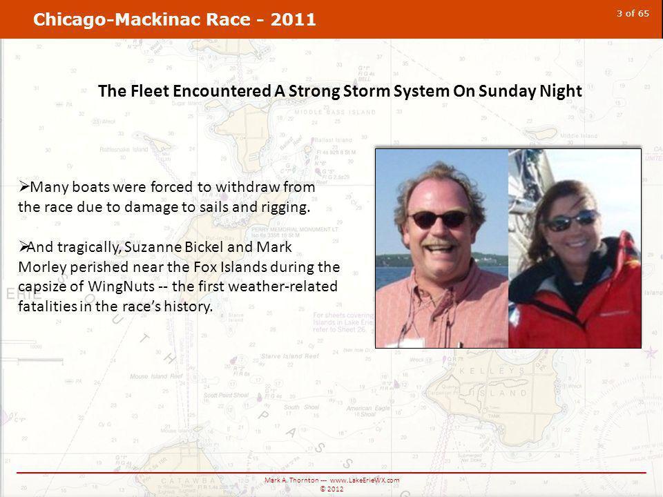 Chicago-Mackinac Race - 2011 ____________________________________________________________________________ Mark A.