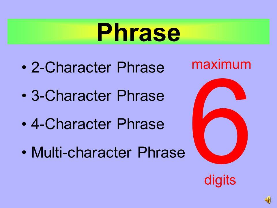 Phrase Coding