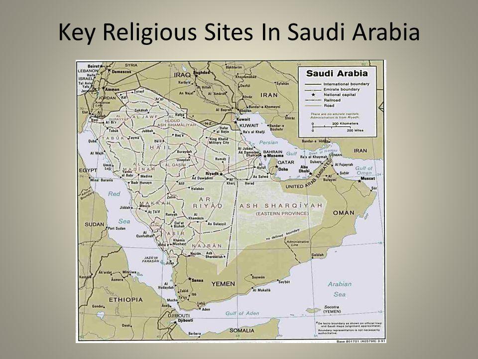 Key Religious Sites In Saudi Arabia