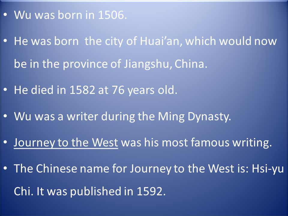 Another name he went by was Sheyang Hermit His father was a merchant and loved to read.