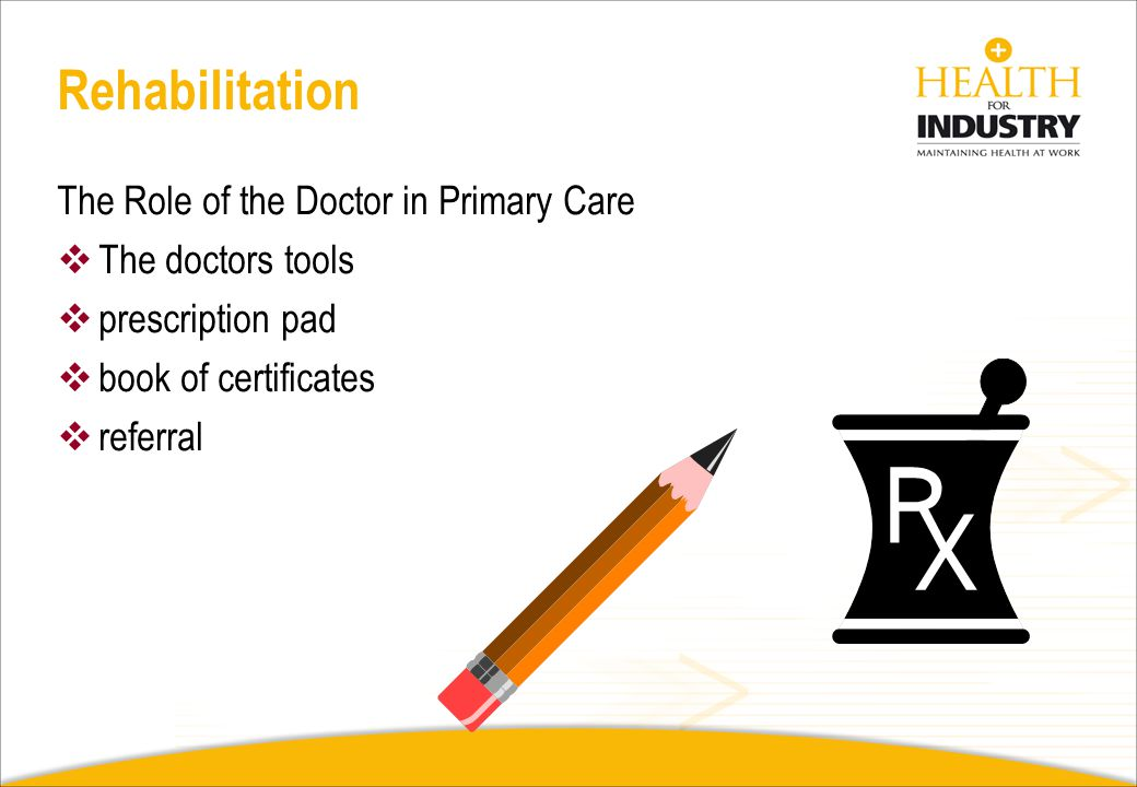 The Role of the Doctor in Primary Care The doctor patient interaction is based on mutual trust and an expectation of honesty The only information avai