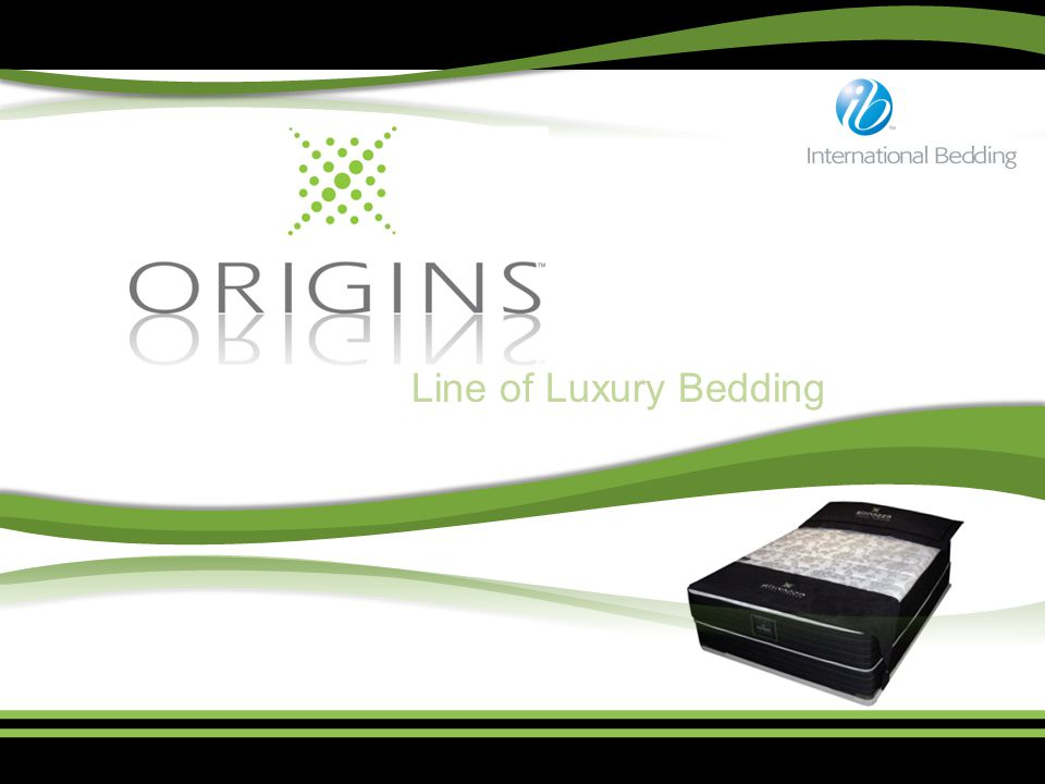 Line of Luxury Bedding