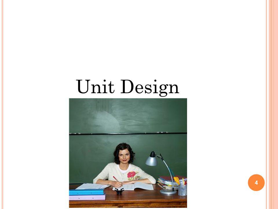 Unit Design 4