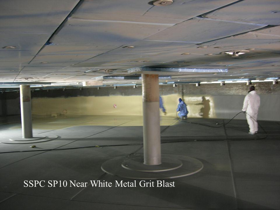 SSPC SP10 Near White Metal Grit Blast