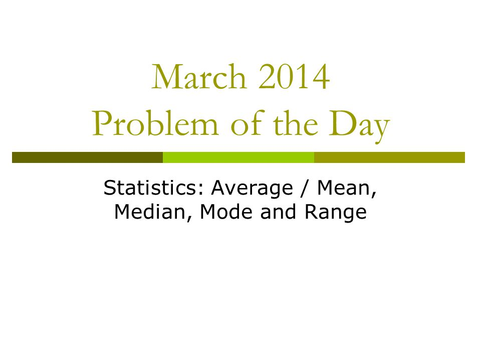 March 31, 2014 In statistics, an outlier is an observation that is numerically distant from the rest of the data.