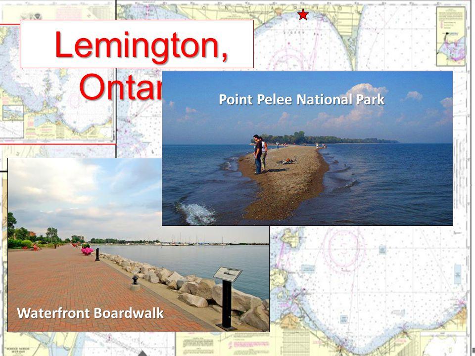 Lemington, Ontario Lemington, Ontario Waterfront Boardwalk Point Pelee National Park