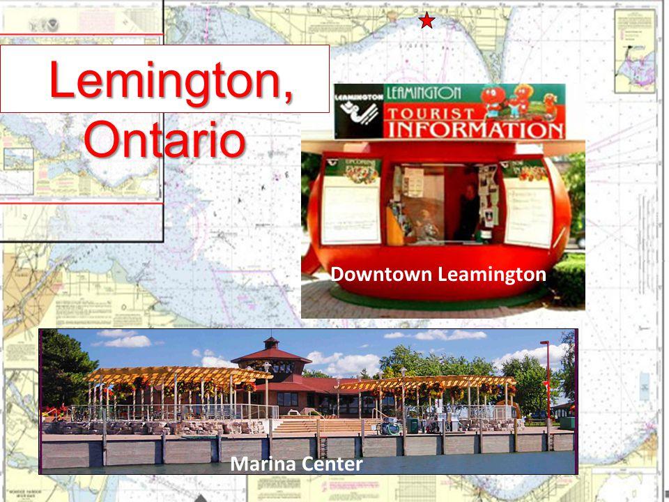 Marina Center Lemington, Ontario Lemington, Ontario Downtown Leamington