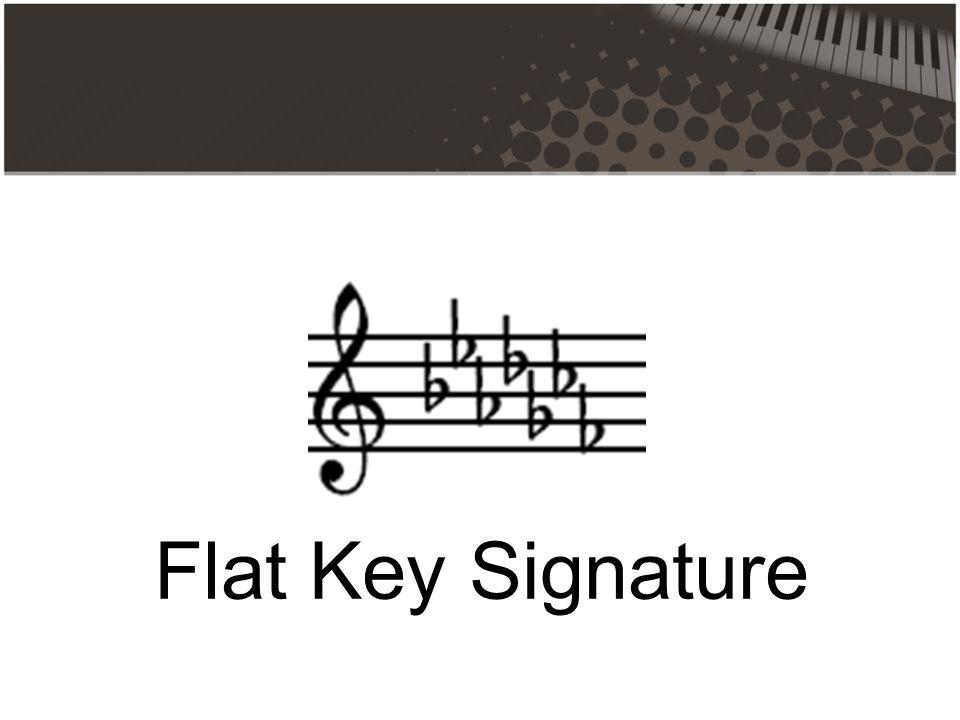 Flat Key Signature