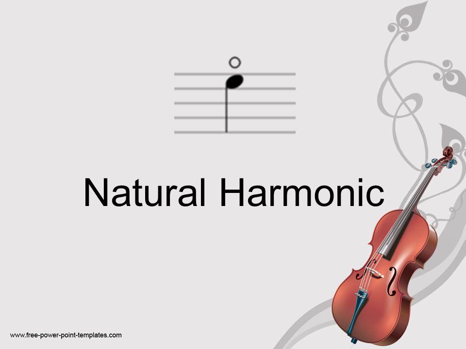 Natural Harmonic