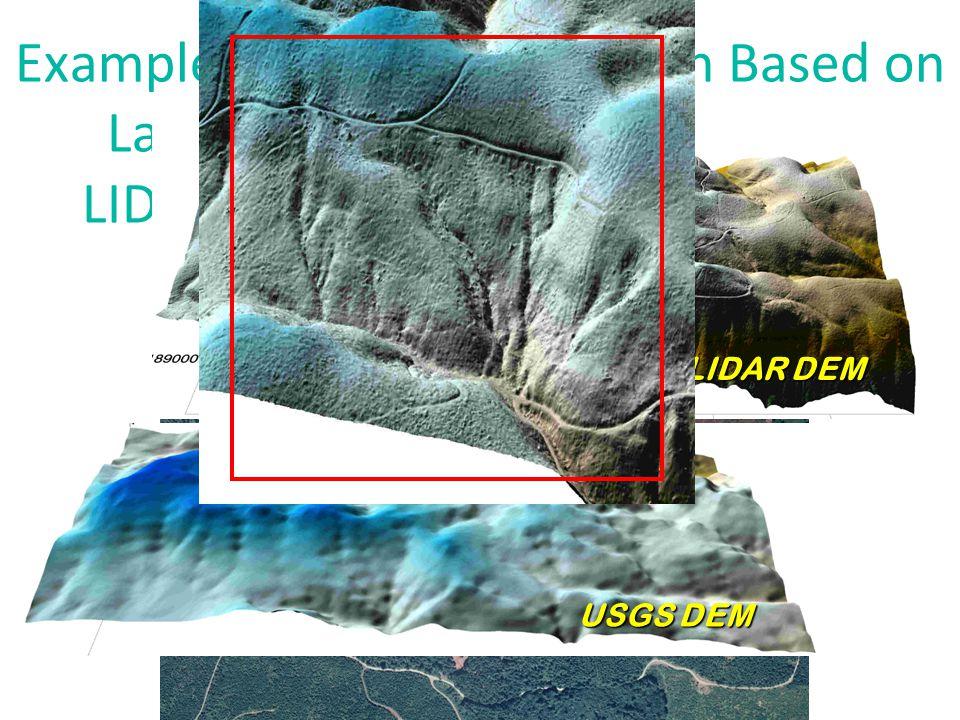 LIDAR Canopy Model (1 m resolution) WHOA!