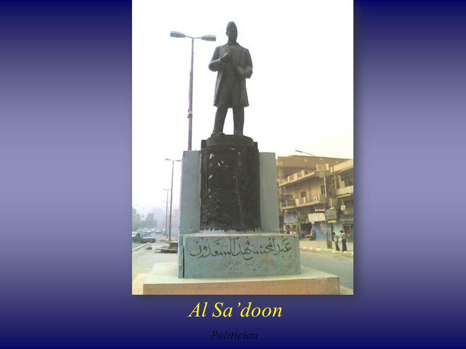 Al Sadoon Politician
