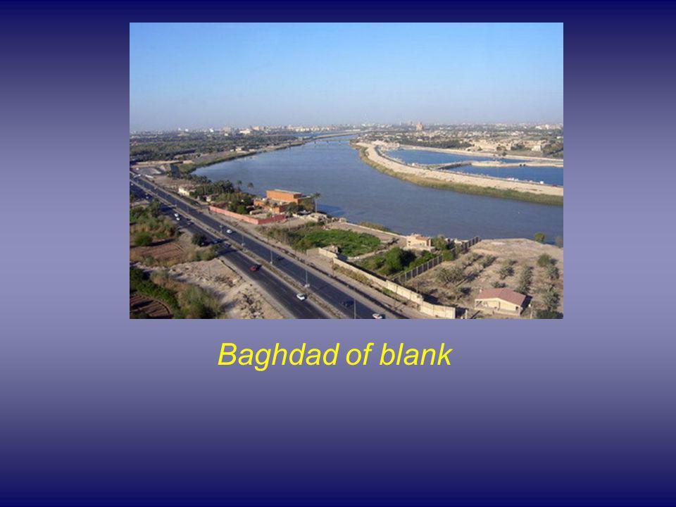 Baghdad of blank