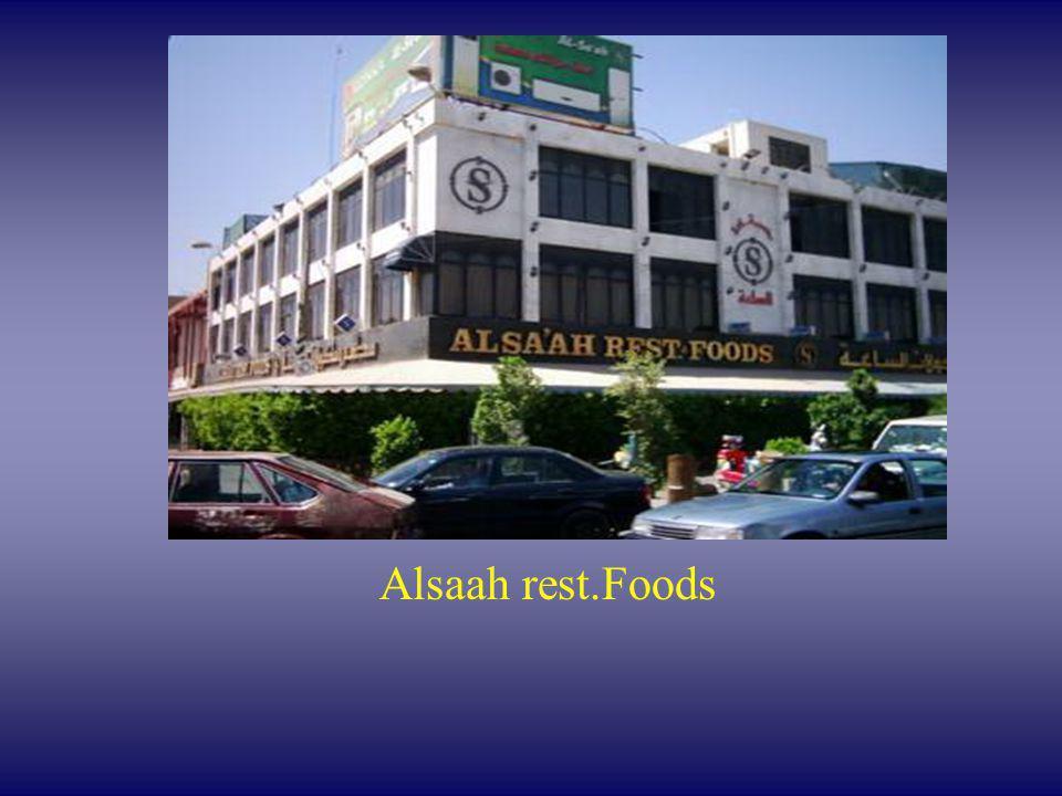 Alsaah rest.Foods