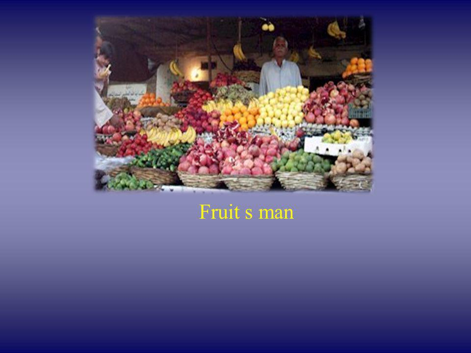 Fruit s man