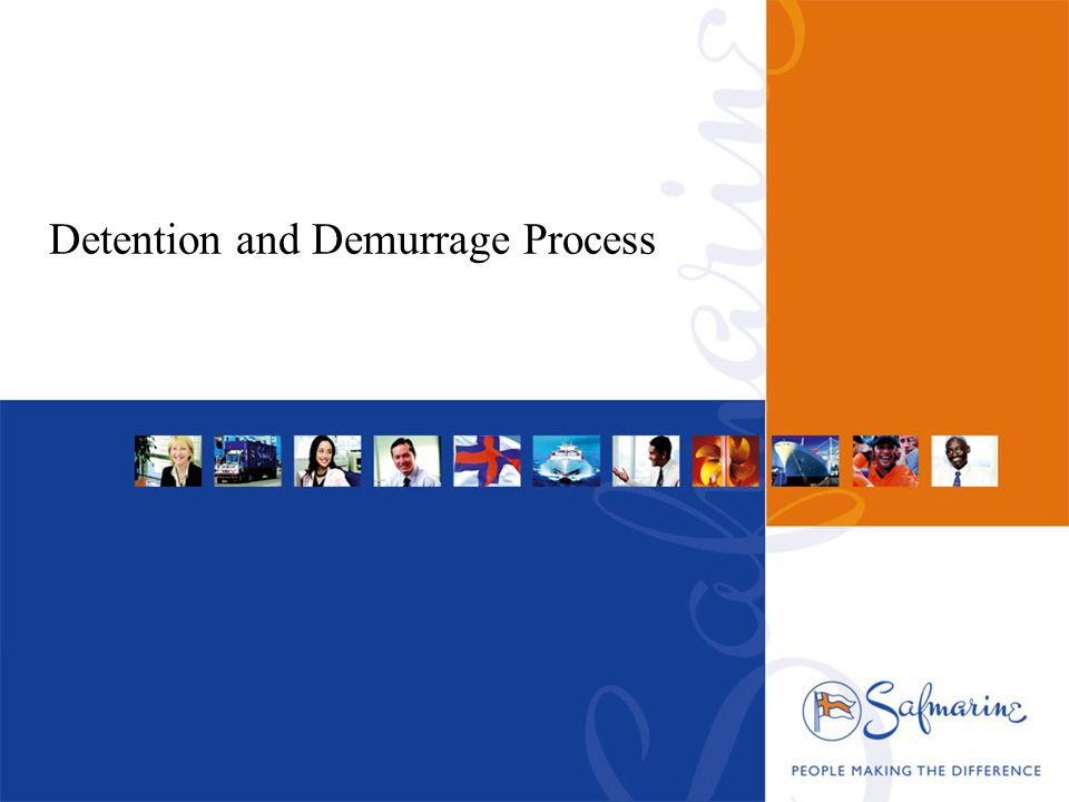Detention and Demurrage Process