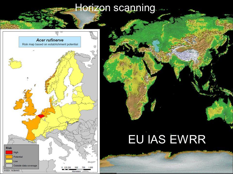 EU IAS EWRR Horizon scanning