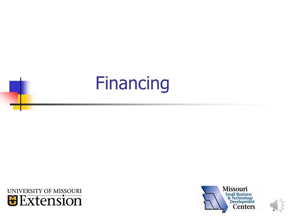 1 Financing