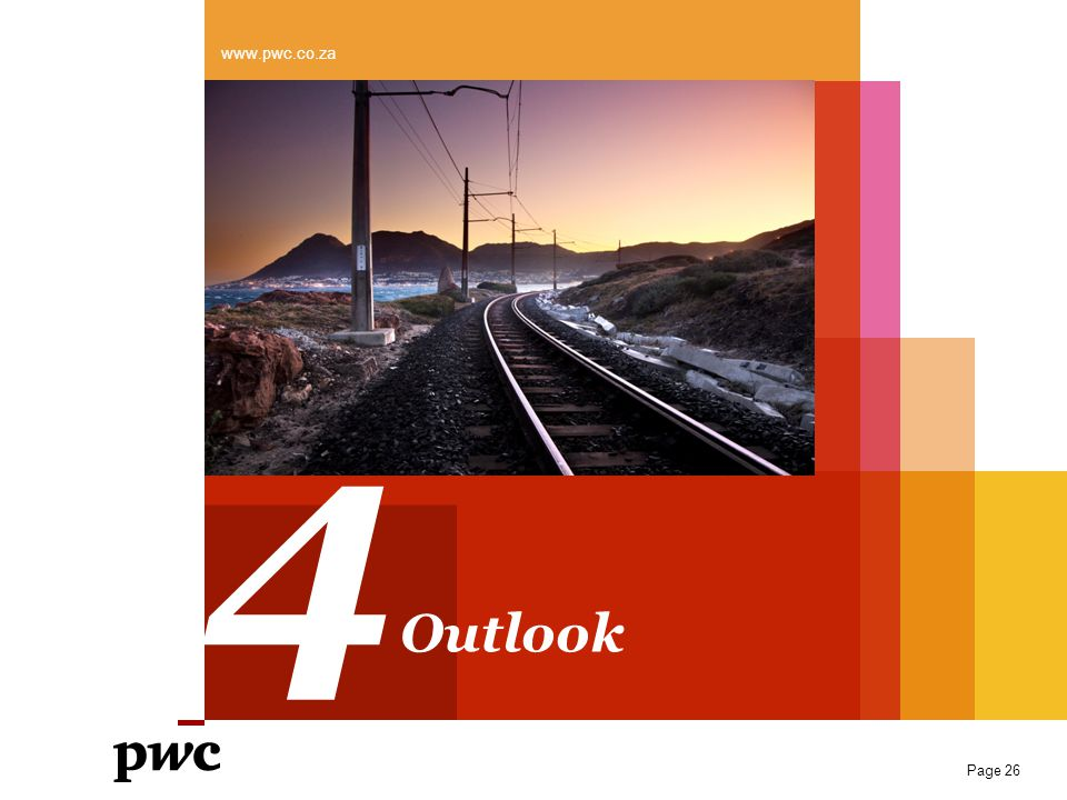 www.pwc.co.za 4 Outlook Page 26