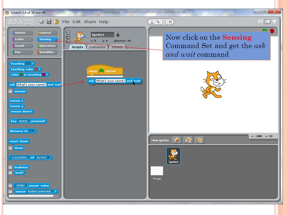 Also click on the answer check box to make it show on the display window.