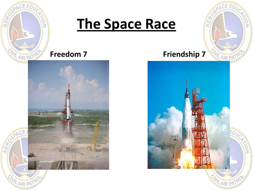 The Space Race Freedom 7Friendship 7